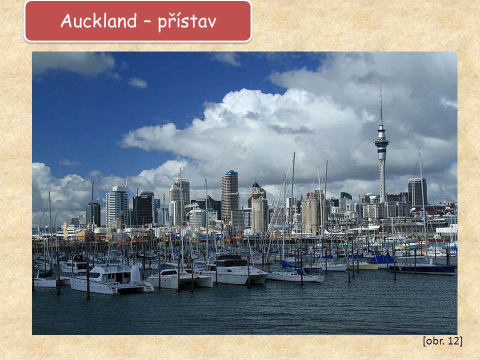 Auckland – přístav [obr. 12]